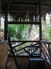 From our belcony at the Rio Muchacho organic farm were we stayed for 3 weeks.  Our cabin was very cute and private.  All the constructions at the farm were made from Ecuadorian bamboo.: by nigelb, Views[246]