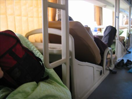 Sleeping bus, I never knew there was such a thing
