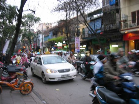 Hanoi street madness