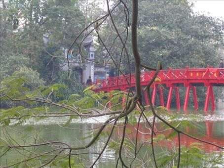 Hoan Kiem Lake, Hanoi