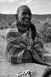 Maasai chief mother: by nikmcgrath, Views[158]