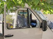 Azerbaijan, Baku - someone broke into our car: by niviosabine, Views[222]