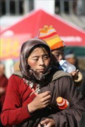 Lhasa; beautiful Tibeten people: by niviosabine, Views[164]