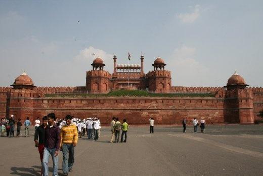 India, Dehli: Red Fort