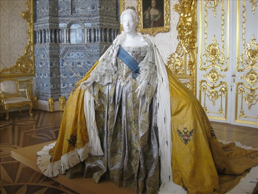 Paper Replica of Portrait of Empress Elizabeth (by Isabelle de Borchgrave)