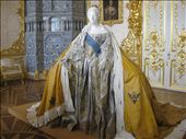 Paper Replica of Portrait of Empress Elizabeth (by Isabelle de Borchgrave): by nncysf, Views[2157]