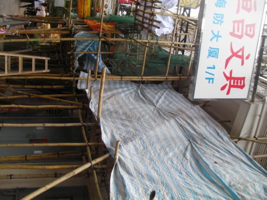 bamboo scaff