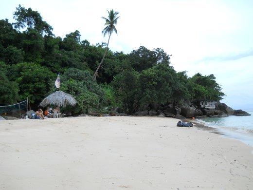 privateish beach