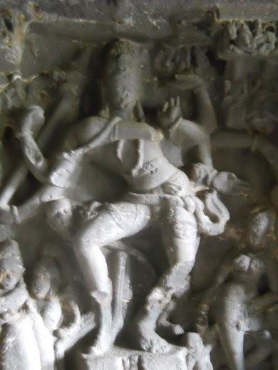 Vishnu dancing