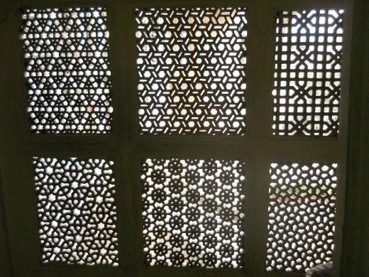 More lattice work