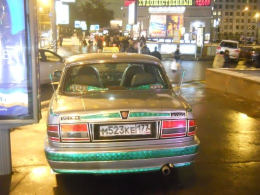 Faberge taxi