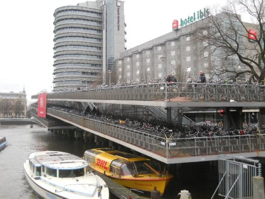 Amsterdam and the bike hotel