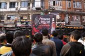 Crowds gather at the Tuborg Project Peace music concert in Thamel, Kathmandu: by nolamancy, Views[316]