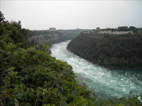First views of the Niagara river