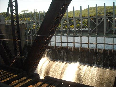 the dam leaks!