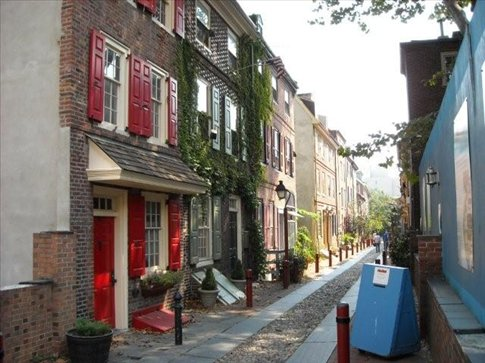 Oldest street in the USA