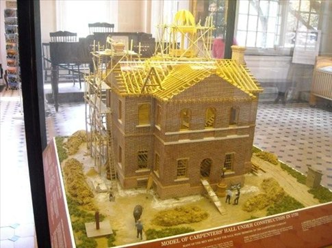 Amazing model of the hall