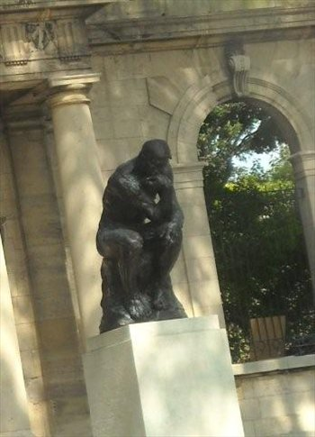 Rodin's 'Thinker' in the Parkway