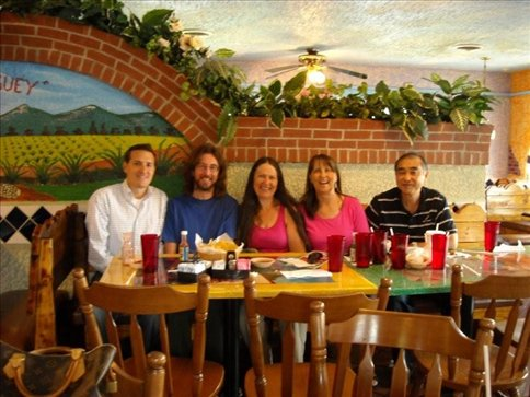 Lunch with Aaron, Dawn & Alan