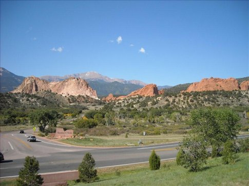 Garden of the Gods Named by two guys - one said it would be a great place to have a beer garden and the other said it was a place fit for the gods.