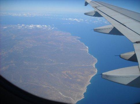 Goodbye to the Baja Peninsular.