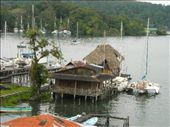 random pics of the Rio Dulce from the huge bridge that spans the river: by nomad_kiwis, Views[340]