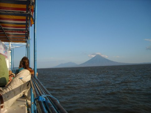 first views of Ometepe