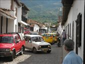 yes they run buses and cars up and down these narrow streets and park in them too: by nomad_kiwis, Views[315]