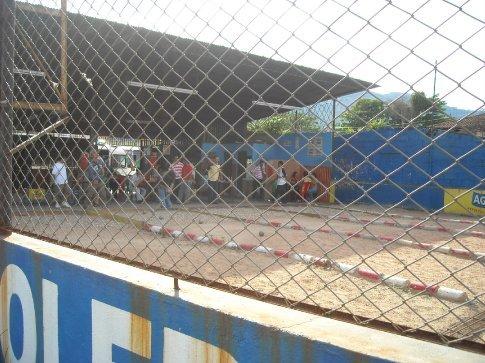 local sport, like petanc / bowls