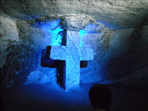 a cross at every tunnel