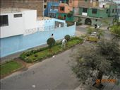 View from the window at Beto´s. Note the guy sweeping his lawn.: by nomad_kiwis, Views[277]