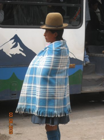 typical hat worn by the women