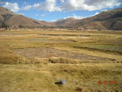 plains on the way to Puno