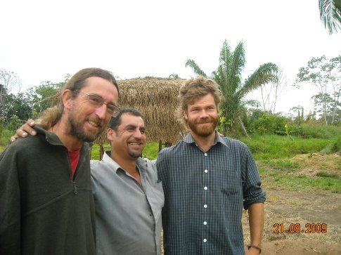 Kent with Roberto and Gabriel