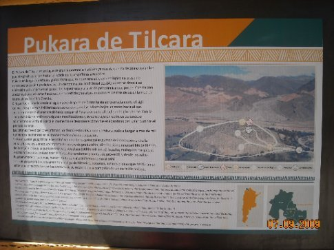 Info on the site of Pucara