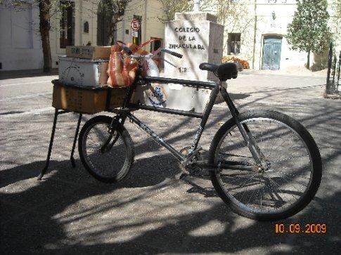Granville's bike still in use