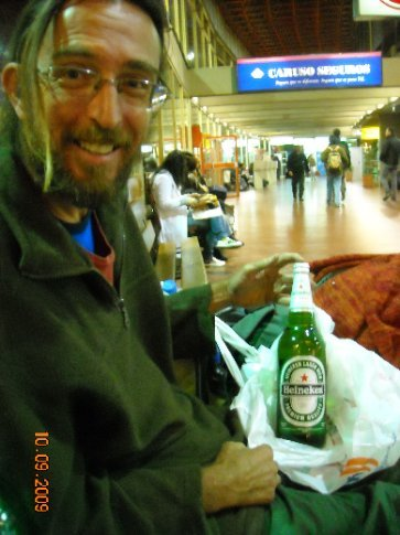 Heaven, a 970ml bottle of beer for about 5 pesos (NZ$1.80)