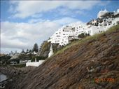 built on the rocks overlooking the sea, just like a big sandcastle painted white: by nomad_kiwis, Views[269]