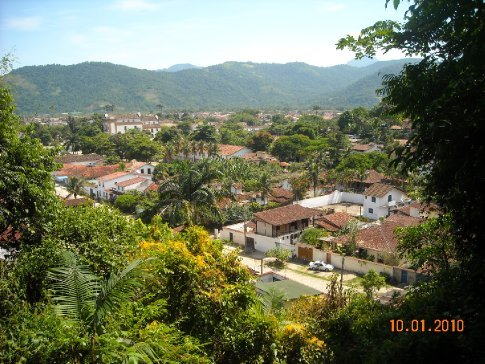 Parati from the fort above the town