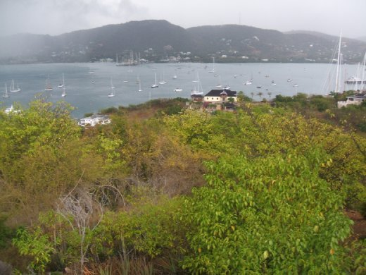 views of Antigua