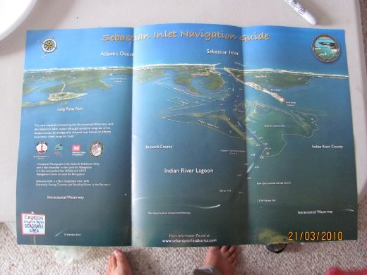 pamphlet of the area