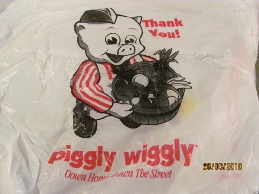 Piggly Wiggly is a local supermarket chain