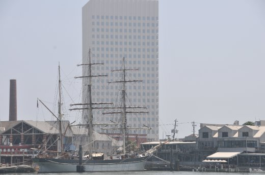We got to visit the Tall Ship Elissa