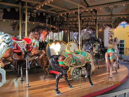 magical old merry-go-round