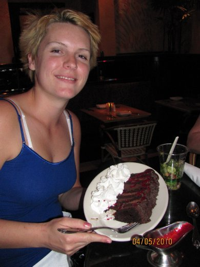 you're right she couldn't eat it all