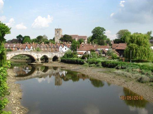 Aylesford medieval bridge