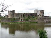 Caerphilly Castle biggest castle in Wales and second biggest in UK: by nomad_kiwis, Views[236]