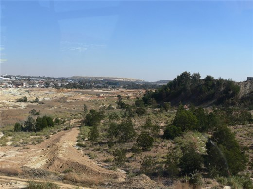 Old Gold tailings right in the city
