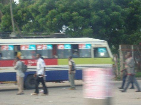 my dala-dala that I took to work every day in Dar: the Mbagala Rangi Tatu!