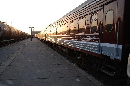 One of the stops from Beijing to Irkutsk